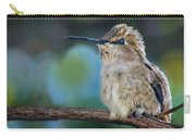 Costa's Hummingbird - Square Carry-all Pouch