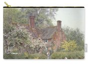 Cottage At Chiddingfold Carry-all Pouch by Helen Allingham