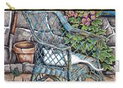 Cottage Garden Carry-all Pouch