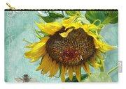 Cottage Garden - Sunflower Standing Tall Carry-all Pouch