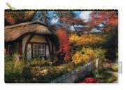Cottage - Grannies Cottage Carry-all Pouch by Mike Savad