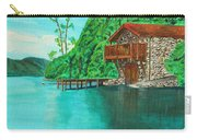Cottage On Lake  Carry-all Pouch