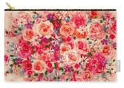 Cottage Roses Carry-all Pouch