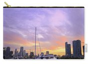Cotton Candy Sunset Over Miami Carry-all Pouch