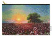 Cotton Field Sunset Carry-all Pouch