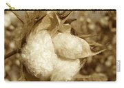 Cotton Sepia Carry-all Pouch