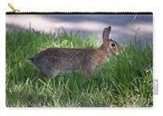 Cottontail Rabbit In My Front Yard Carry-all Pouch