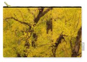 Cottonwood Fall Foliage Colors Abstract Carry-all Pouch