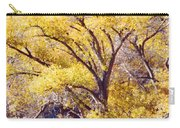 Cottonwood Golden Leaves Carry-all Pouch