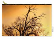 Cottonwood Sunrise - Vertical Print Carry-all Pouch