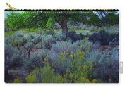 Cottonwood Tree In Old Field Carry-all Pouch