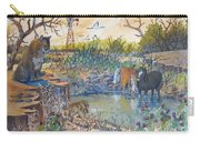 Cougar N Horses Carry-all Pouch