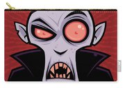 Count Dracula Carry-all Pouch by John Schwegel