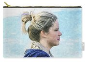Country Angel - Paint Fx Carry-all Pouch