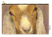 Country Charms Nubian Goat With Bright Eyes Carry-all Pouch