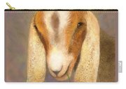 Country Charms Nubian Goat With Daisy Carry-all Pouch