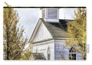 Country Church At Old World Wisconsin Carry-all Pouch