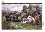 Country Cottage Carry-all Pouch