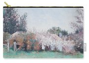 Country Cottage In Spring Time Carry-all Pouch