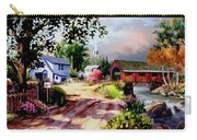 Country Covered Bridge 3 Carry-all Pouch