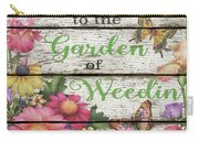 Country Garden Sign-e Carry-all Pouch