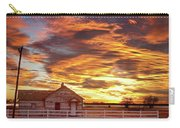 Country House Sunset Longmont Colorado Boulder County Carry-all Pouch by James BO  Insogna