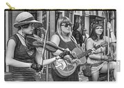 Country In The French Quarter 3 Bw Carry-all Pouch