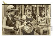 Country In The French Quarter 3 Sepia Carry-all Pouch