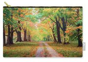 Country Lane - A Walk In Autumn Carry-all Pouch