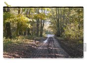 Country Lane In Autumn 2 Carry-all Pouch