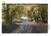 Country Lane In Autumn 4 Carry-all Pouch