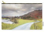 Country Lane In The Lakes Carry-all Pouch