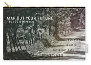Country Lane Quote Carry-all Pouch