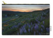 Country Meadow Sunset Carry-all Pouch