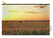 Country Pasture At Sunset Carry-all Pouch