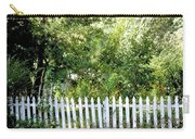 Country Picket Fence Carry-all Pouch