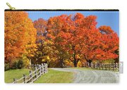 Country Road Autumn Carry-all Pouch