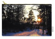 Country Road Sunset Carry-all Pouch