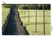Country Road, Wheat Fields Carry-all Pouch
