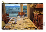 Country Table Setting Carry-all Pouch