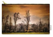 Countryscape With Bell Tower Carry-all Pouch