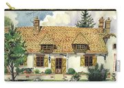 Countryside House In France Carry-all Pouch