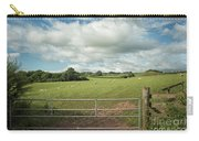 Countryside In Wales Carry-all Pouch