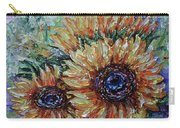 Countryside Sunflowers Carry-all Pouch