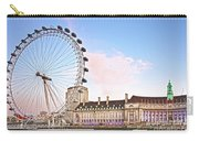County Hall And London Eye Carry-all Pouch