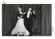 Couple Ballroom Dancing On Stage Carry-all Pouch