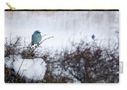 Couple Chilly Bluebirds Carry-all Pouch