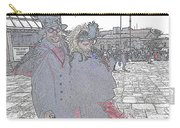 Couple In Red Carry-all Pouch