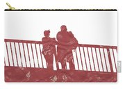 Couple On Bridge Carry-all Pouch