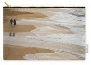 Couple Walking Makena Beach Carry-all Pouch